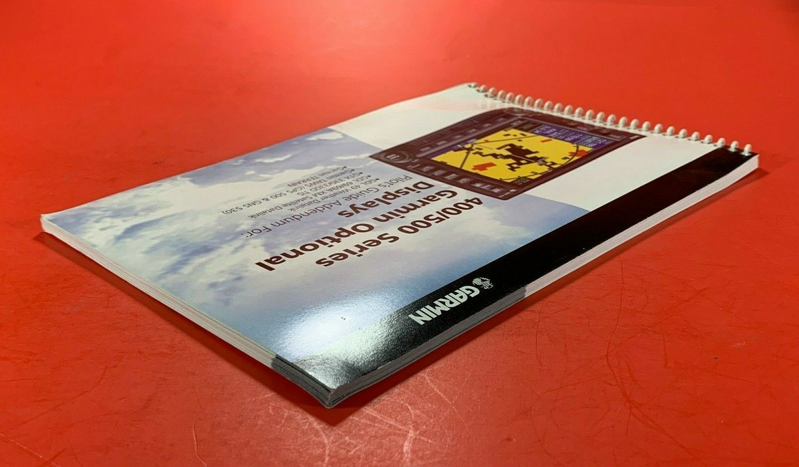 2005 Garmin 400 500 Series Optional Displays Pilot's Guide Addendum 190-00140-13