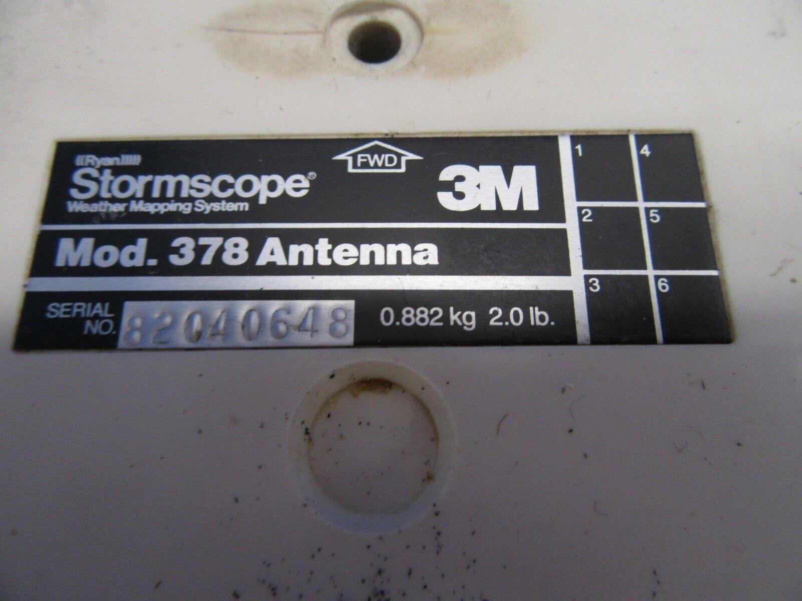 3M Stormscope Mod. 378 Antenna (0419-354)