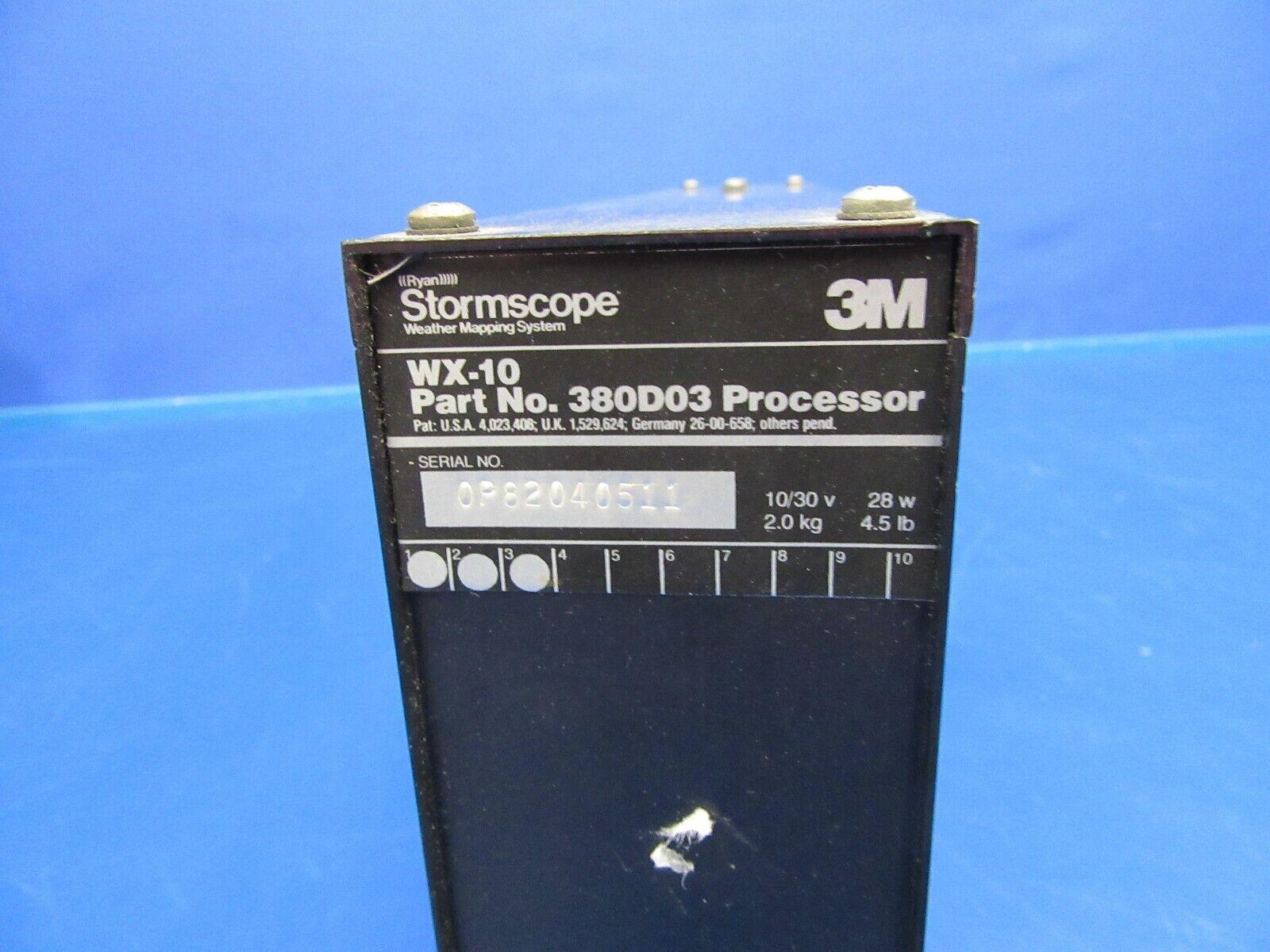 3M Stormscope WX-10 Processor P/N 380D03 (0419-346)