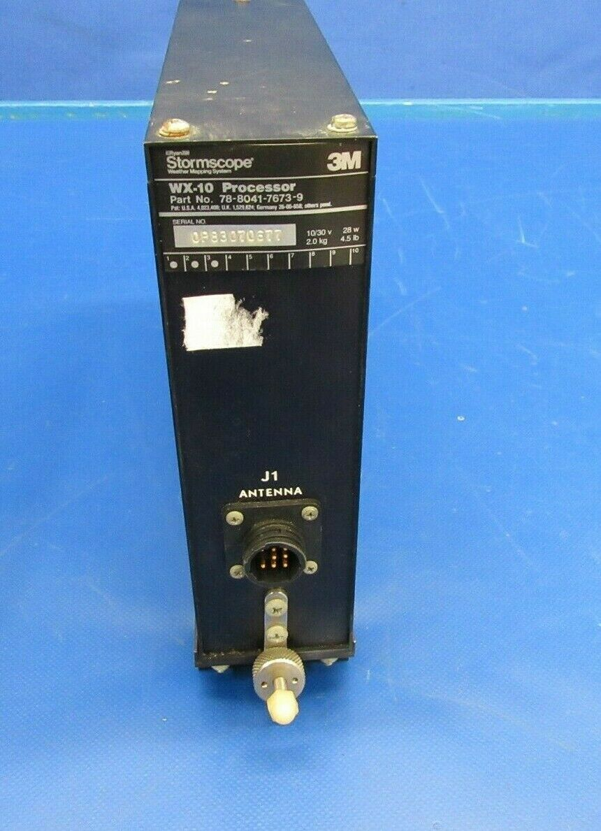 3M WX-10 Stormscope Processor P/N 78-8041-7673-9 (0419-345)