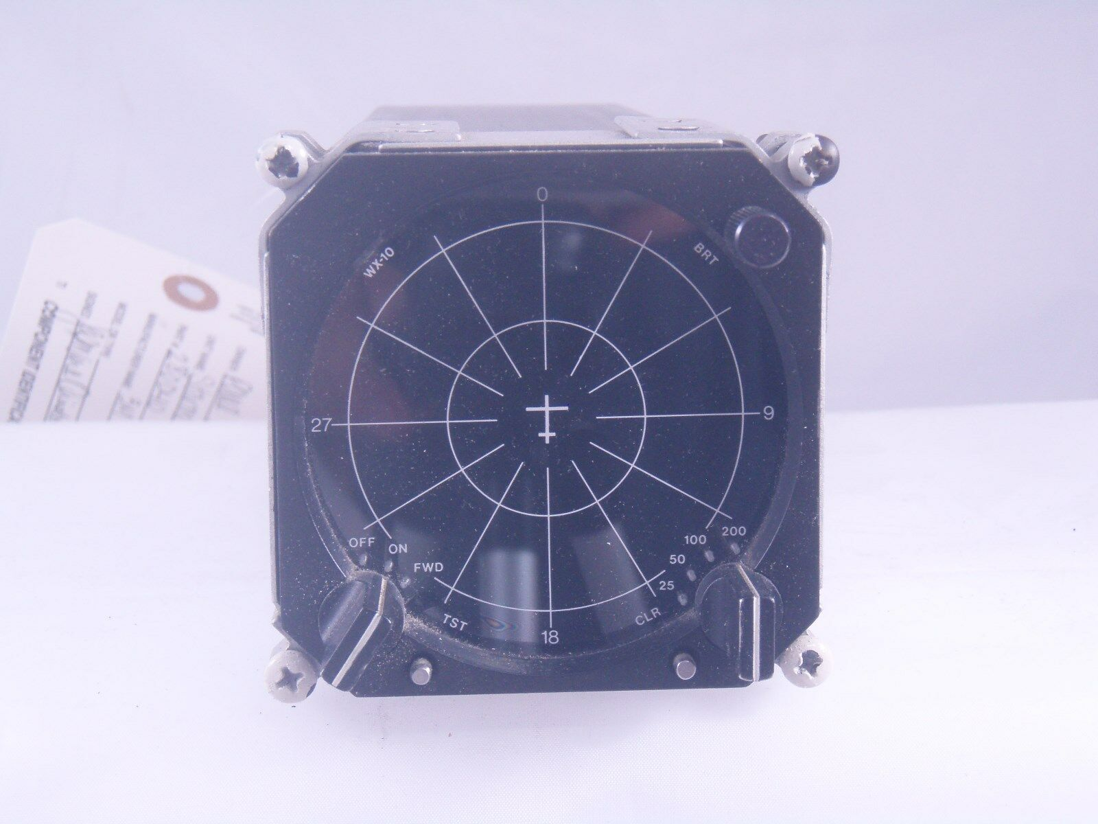 3M WX-10 Stormscope Processor 380D03 with Display PN 280D40 and Antenna