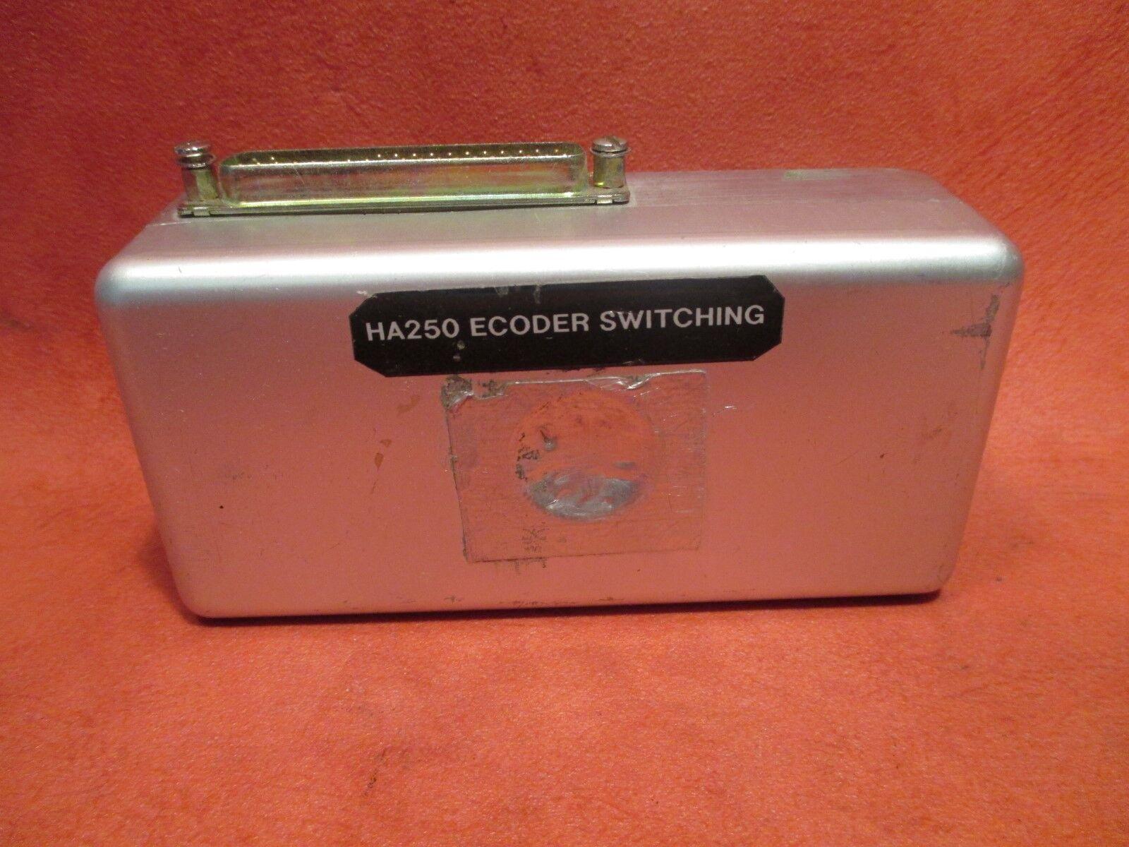 ACK Encoder Relay Box PN HA250