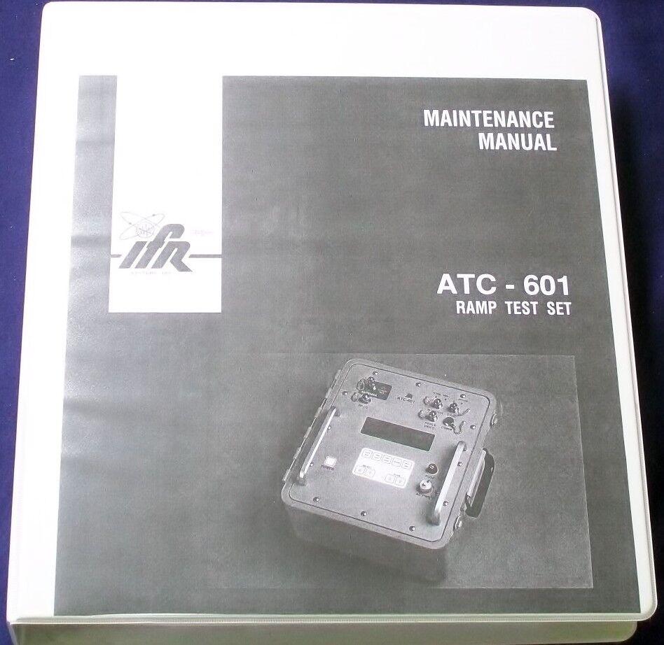 AEROFLEX IFR ATC-601 TRANSPONDER ramp test set service manual copy