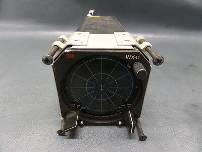 AIACRAFT AVIATION 3M STORMSCOPE WX-11J DISPLAY WITH MOUNTCESSNA PIPER BEECH