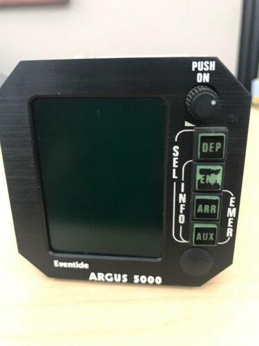 ARGUS 5000 P/N 5000-10-15 & WDA- 5005 W/ TRAY & CONNECTOR