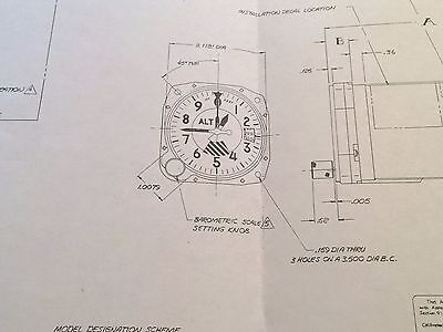 Aero Mechanism 8040B & 8140B  Encoder Install Data Sheet Foldout