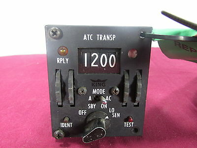 Aircraft King Transponder Control KFS 570-A 1 P/N 071-1014-00 Aviation Avionics