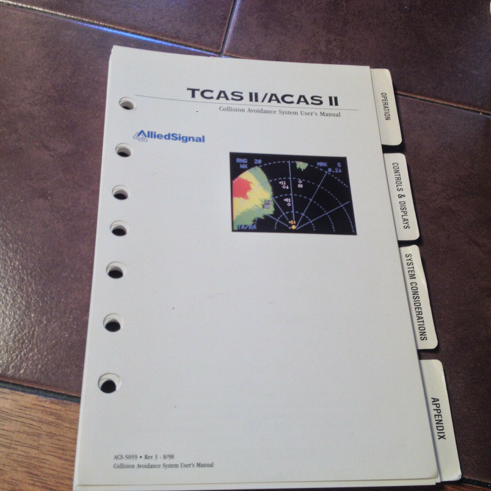 AlliedSignal TCAS II & ACAS II Pilot's Guide