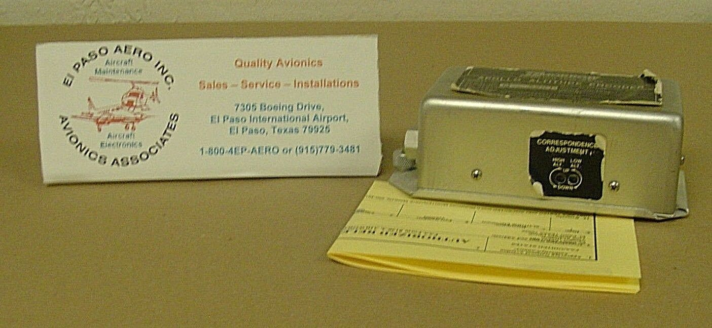Apollo Altitude Encoder P/N:428-2003 EXCHANGE: $450.00