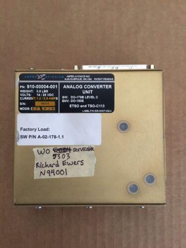 Aspen Avionics Analog Converter Unit ACU  P/N 910-00004-001