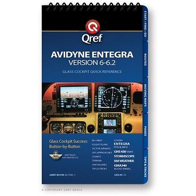 Avidyne Entegra (Ver. 6-7) Quick Reference Checklist Book by Qref