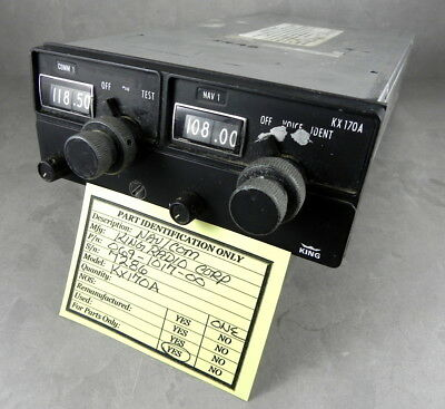 BENDIX KING KX170A  Aircraft Radio
