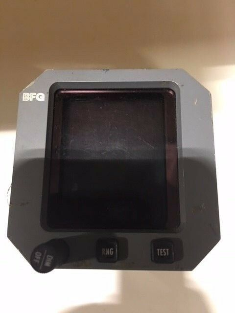 BF GOODRICH CTL / DISPLAY 805-10007-006    CD605  TCAS DISPLAY
