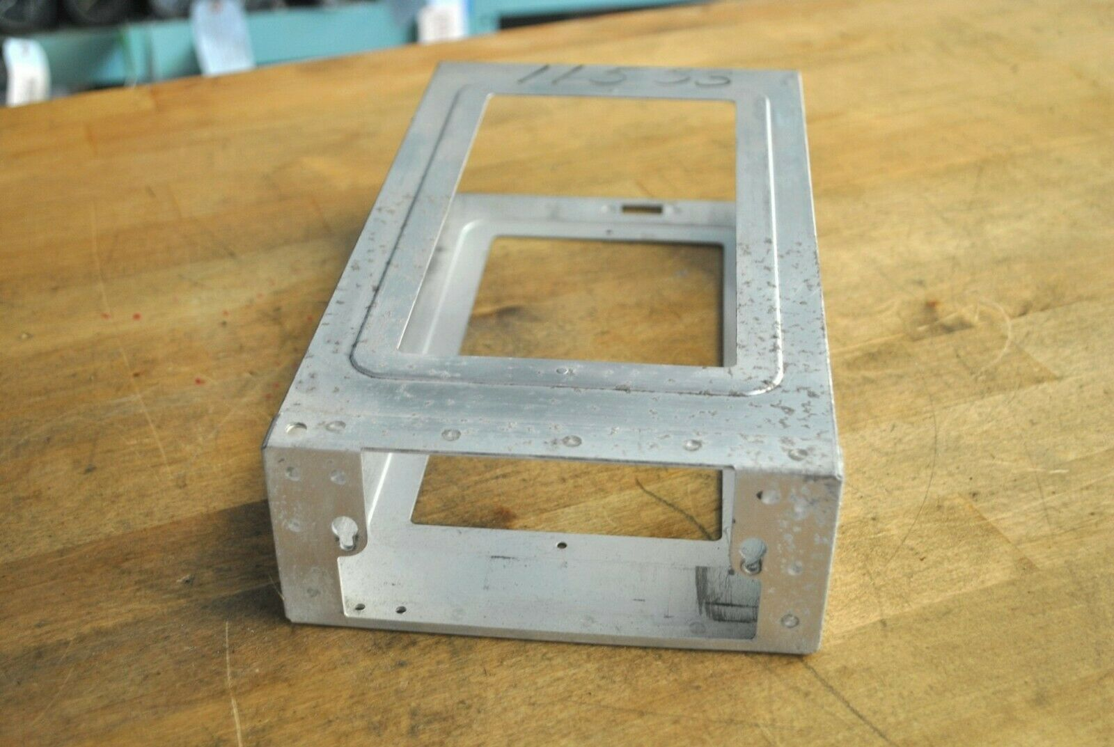 Bendix King KX-170B NAV COMM Mounting Rack / Installation Tray