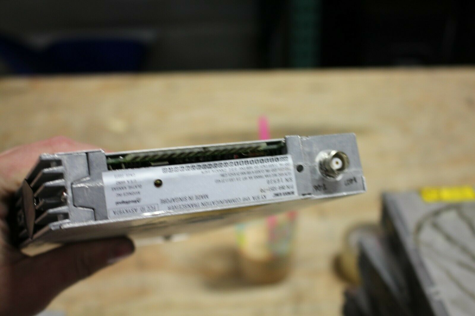 Bendix King KY 97A COMM Radio VHF Transceiver 14V