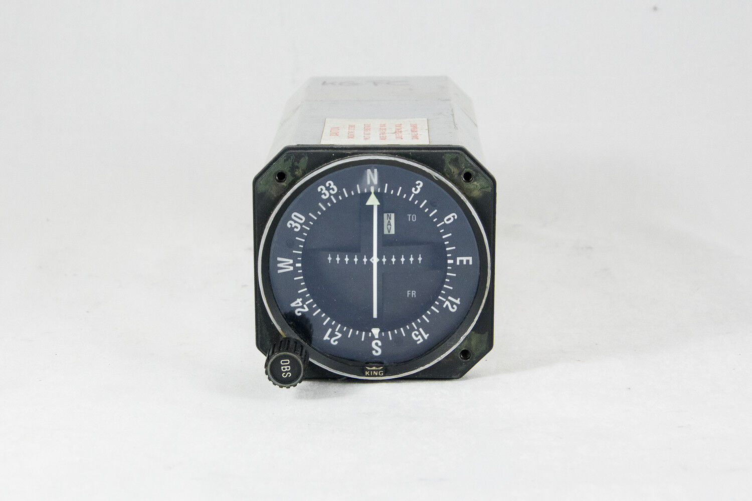 Bendix/King KI-203 VOR/LOC Indicator PN: 066-3034-00 SN: 14686, Guaranteed