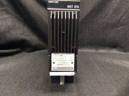 Bendix/King MST-67A Mode-S Transponder P/N: 066-01143-0601