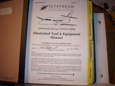 British Aerospace Jetstream 3100 & 3200 Illustrated Tool & Equipment Manual
