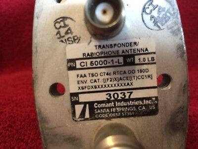COMANT CI 5000-1-L TRANSPONDER RADIOPHONE ANTENNA