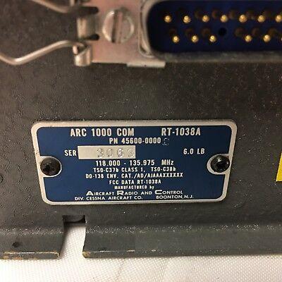 Cessna ARC-1000 Com RT-1038A 118-135.975MHz 45600-0000 - Untested