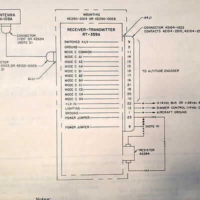 Cessna ARC RT-359A Transponder Install Manual