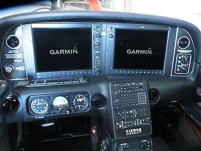 Cirrus SR22 Complete G1000 System w/Interior/GTS 800/AC/Oxygen/Garmin GFC700 AP