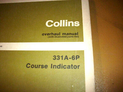 Collins  331A-6P Indicator Service manual