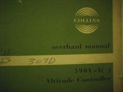 Collins 590A-3 Altitude Controller Overhaul Manual