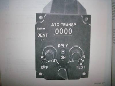 Collins 613L-3 Transponder Control  Unit Service Manual