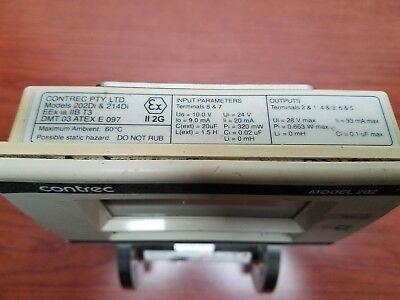 Contrec 202Di.40 , Programmable , Apollo SS RN4 Axial Turbine Flowmeter , 1