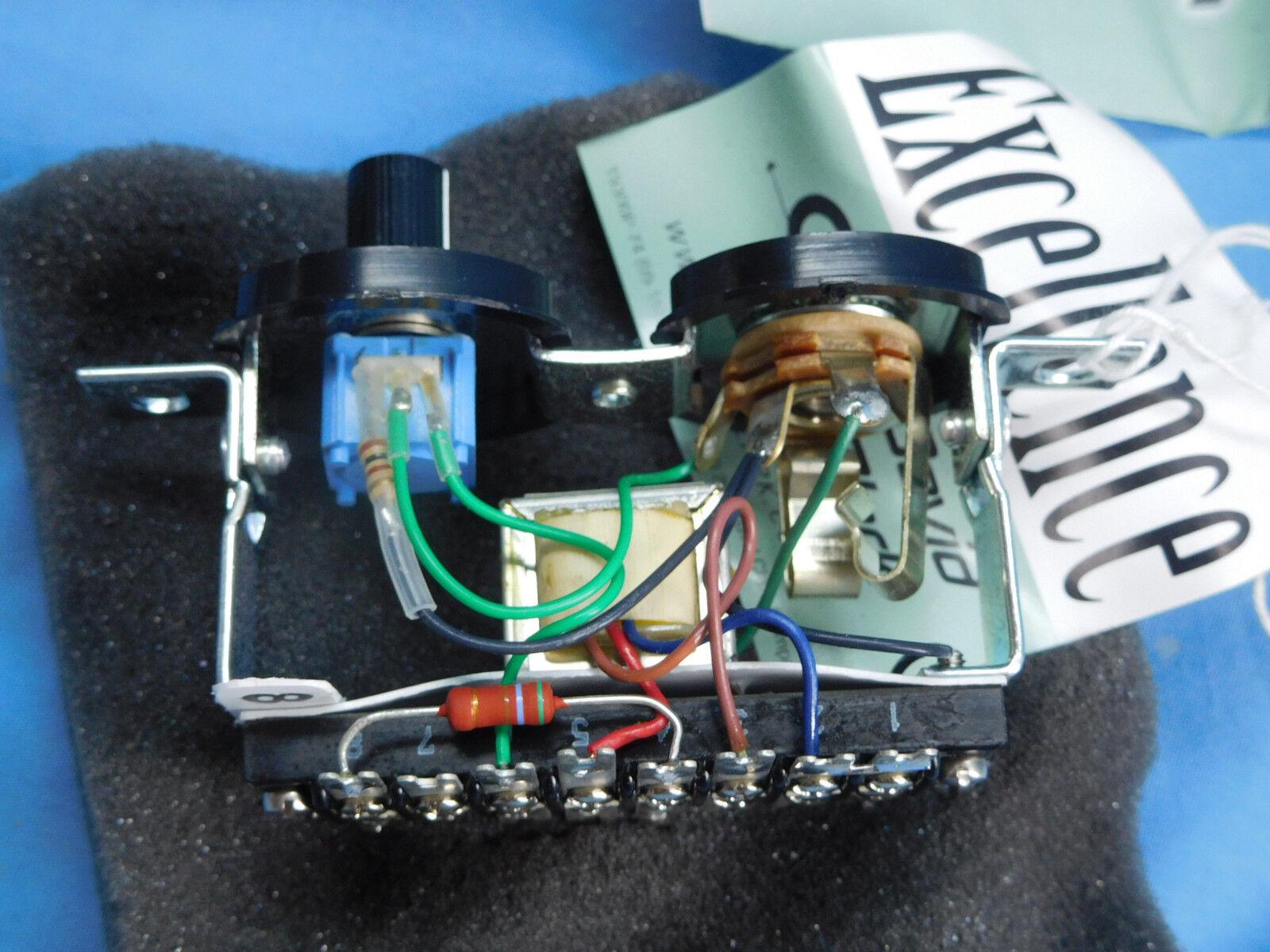 David Clark 16789G-04 Intercom Station Headset Voume Control NEW