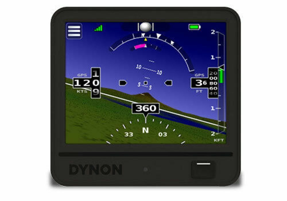 Dynon D3 Pocket Panel Portable EFIS 103306-000