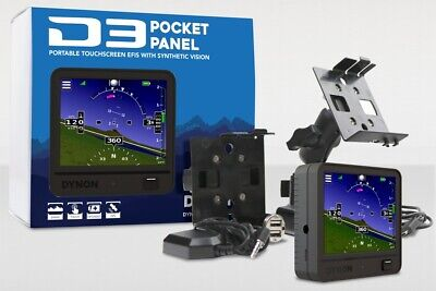 Dynon D3 Pocket Panel Portable EFIS