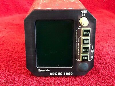 EVENTIDE ARGUS 3000 MOVING MAP DISPLAY MODEL 3000-20-00