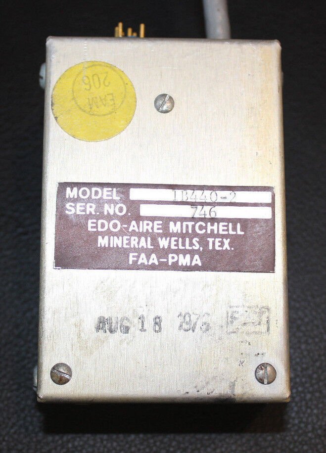 Edo-Aire Mitchell, Autopilot Relay Box, Model 1B440-2