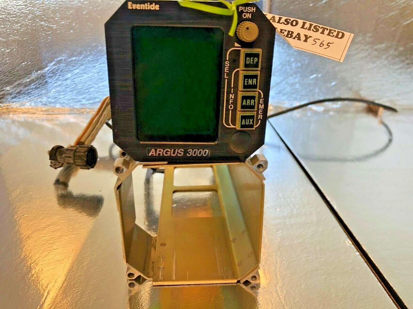 Eventide Argus 3000-00-00 11-33V Mod 1,2,3,5,6,8 Tray and Back Plate
