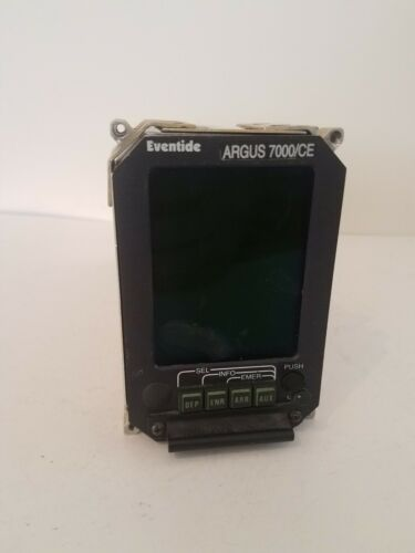 Eventide Argus 7000/CE Moving Map Display  with tray