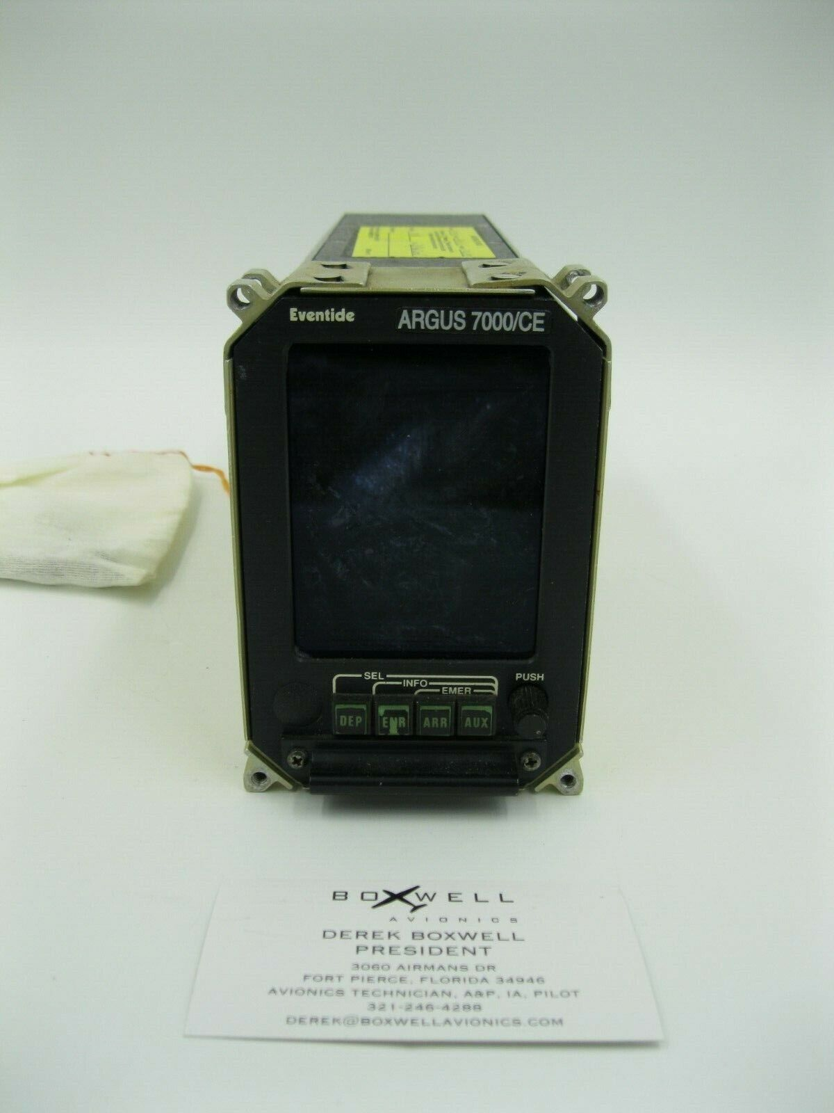 Eventide Argus Color Moving Map Display 7000/CE
