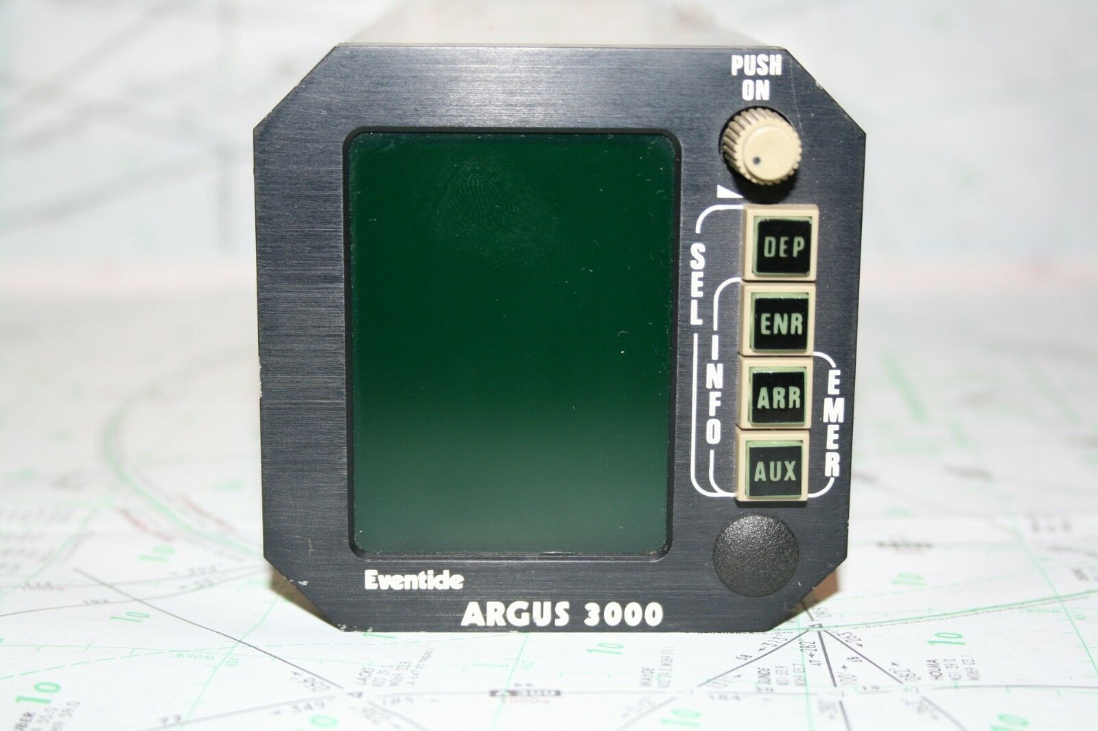Eventide Avionics Argus 3000 Moving Map P/N3000-00-00