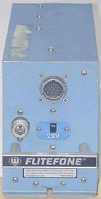 Flite Fone/Flitefone 2 RT-14 PN 400-0015 Radiotelephone Avionics Radio Telephone
