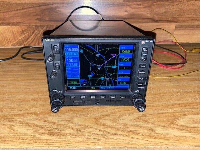 GARMIN GNS-530  NON-WAAS GPS NAV/COM W/GLIDESLOPE ( 14-28 VOLT )