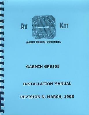 GARMIN GPS 155 INSTALLATION MANUAL