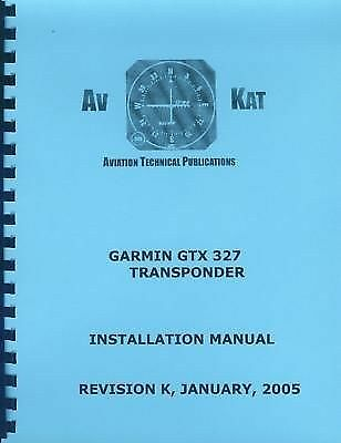 GARMIN GTX-327  INSTALLATION MANUAL