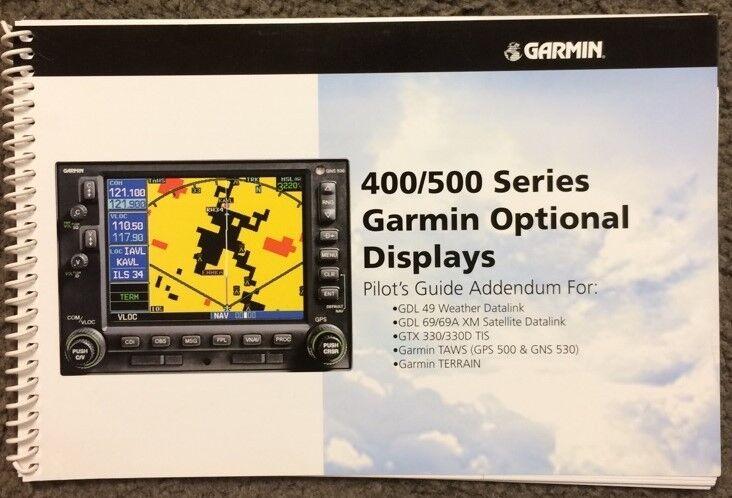 Garmin 400/500 Series Optional Displays Manual