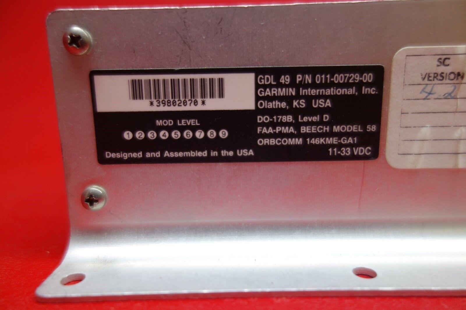 Garmin GDL 49 Data Link Receiver PN 011-00729-00