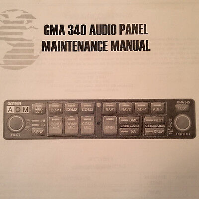 Garmin GMA 340 Maintenance Manual