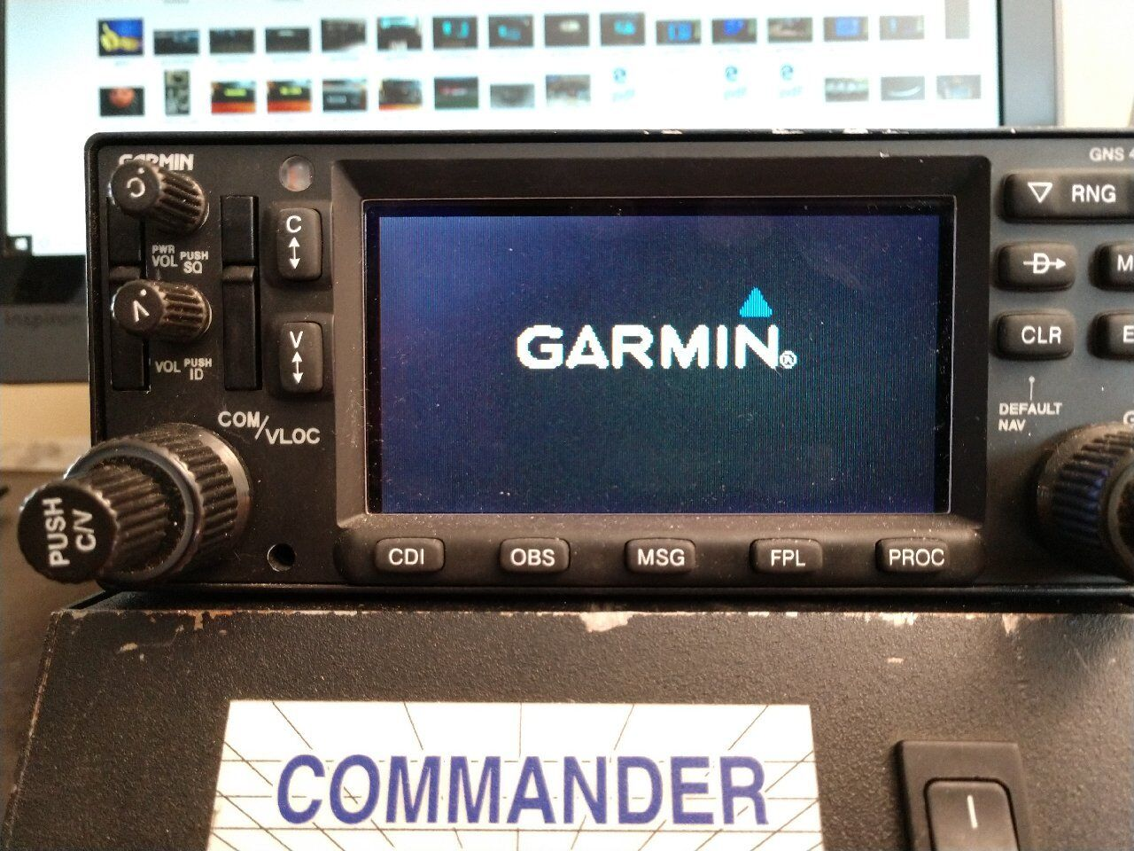 Garmin GNS-430W GPS/NAV.COM w/WAAS 28v 011-01060-45 w/tray and antenna