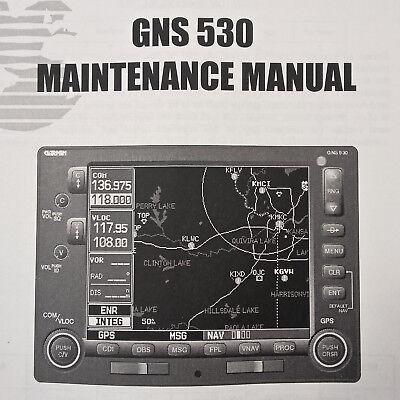 Garmin GNS 530 Maintenance Manual