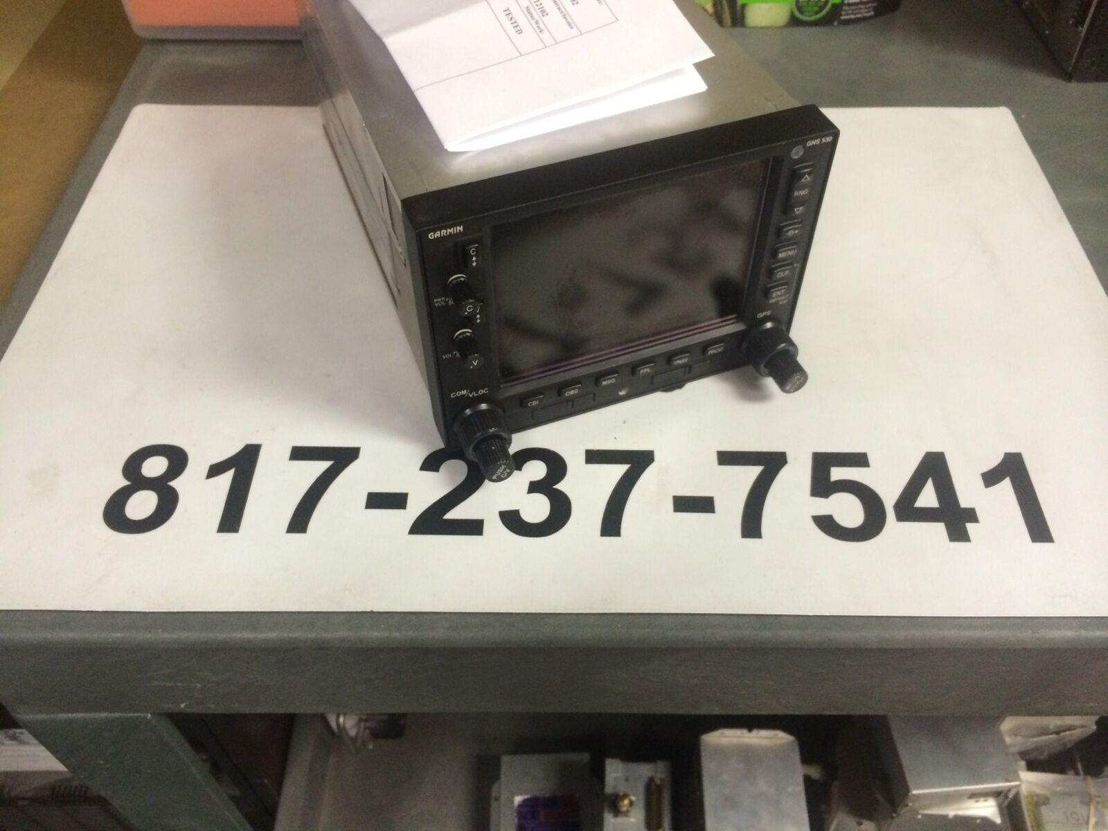 Garmin GNS 530W 011-01064-40 SV 8130 10/16