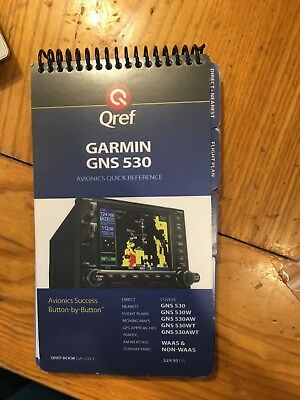 •	Garmin GPS GNS 530W  P/N 011-01064-45 w/ antenna, tray, back plate connector